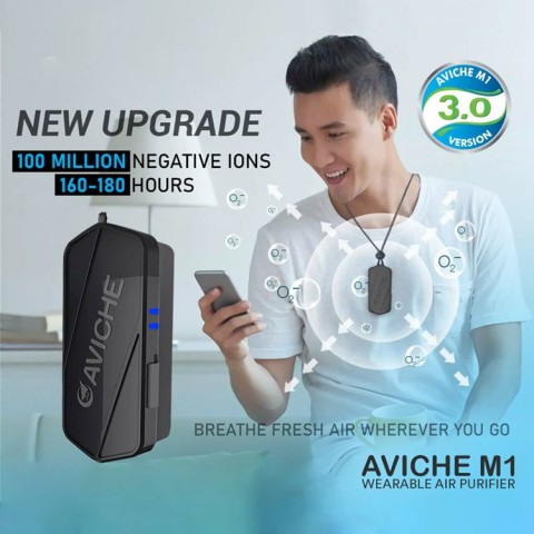 AVICHE M1 Air purifier necklace VERSION 3.0