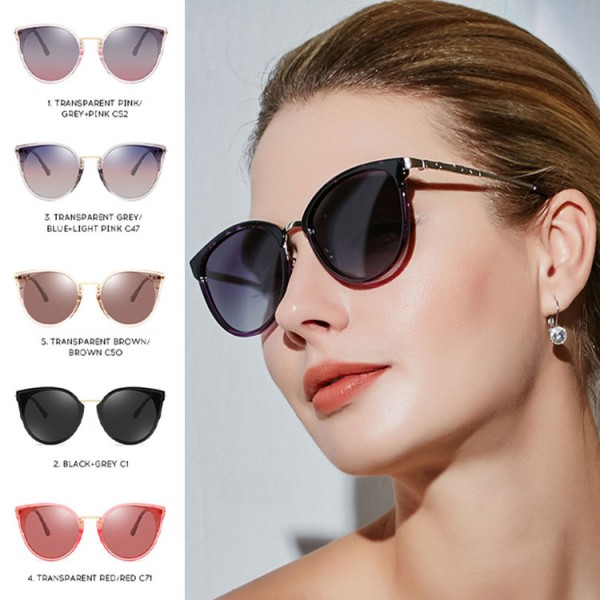 2021 luxury retro ladies cat eyes sunglasses