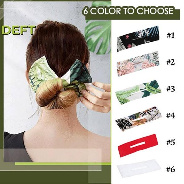Convenient Korean hair styling straps