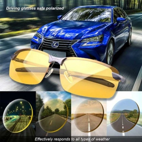 Safe Driving Glasses Anti-Glare At Night Anti-Glare During The Day