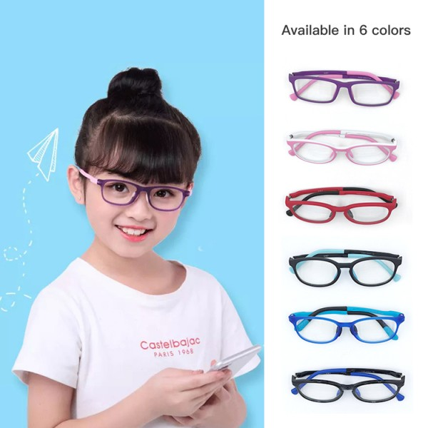 Childrens anti-blue light glasses