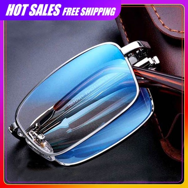 Progressive Multi-Focus HD Folding Reading Glasses