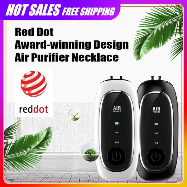 2021 latest adjustable air purifier necklace