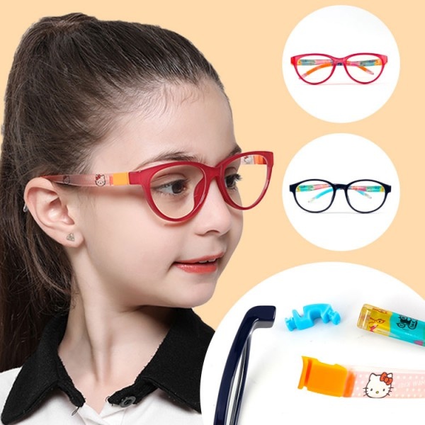 Anti-blue glasses for children with interchangeable legs