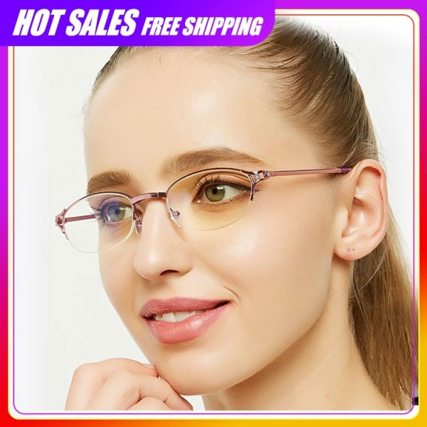 2021 Folding Half Frame Ladies Reading Glasses