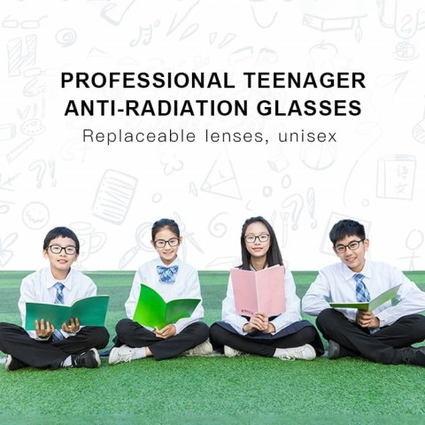 Professional teenager and adult anti-radiation glasses