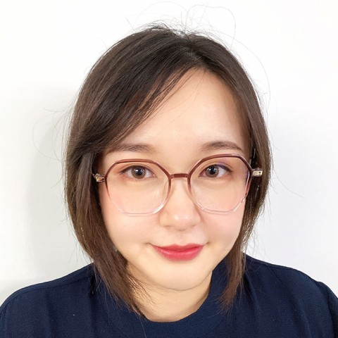 Fashion gradient series glasses frame