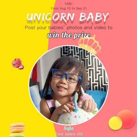Unicorn Baby-Sofia