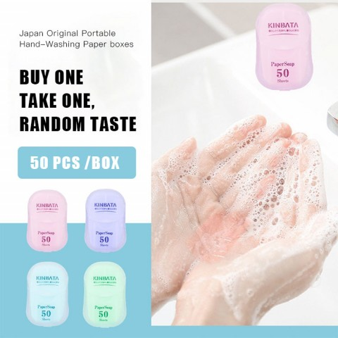 Portable Hand-Washing SoapPaper - buy one take one