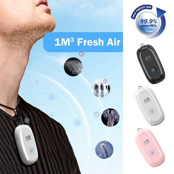 2021 Two Gears Adjustable Air Purifier Necklace-buy 2pcs can save 200pesos-HM8