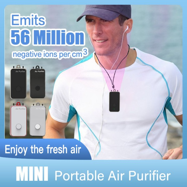 Mini wearable air purifier-hmpn