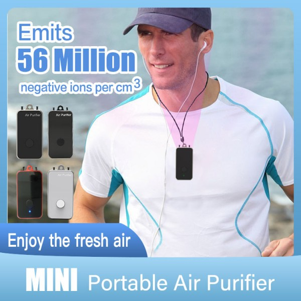 Mini wearable air purifier-hmpn