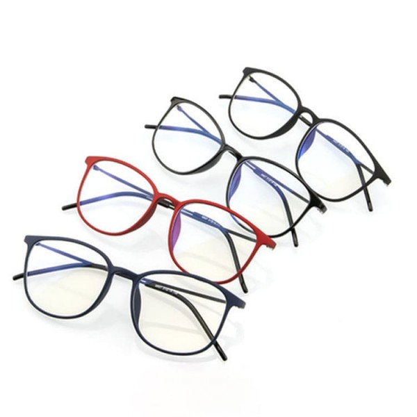Super light β titanium full frame anti-blue light glasses