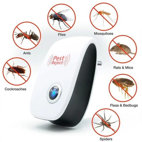 Ultrasonic powerful upgraded insect repe..