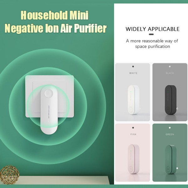 Mini Household Negative Ion Purifier..