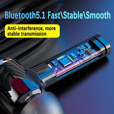 Wireless bluetooth HD headset
