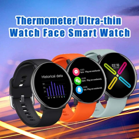 Thermometer Ultra-thin Watch Face Smart Watch